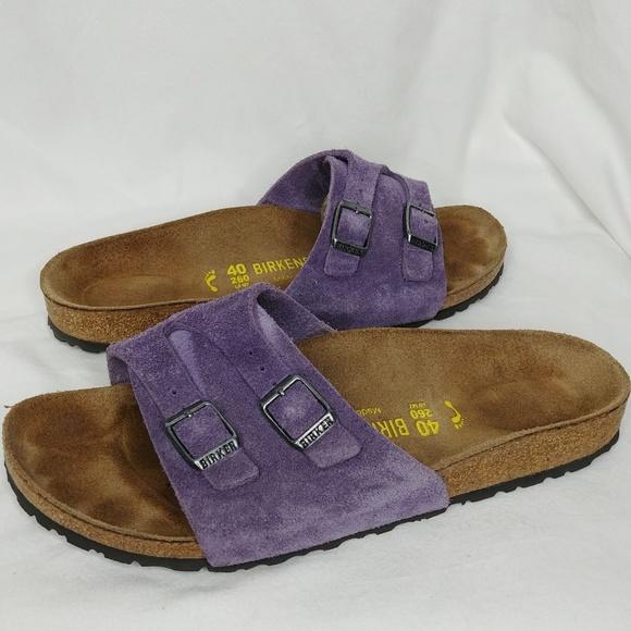6d2e57cc7 Birkenstock Shoes - Birkenstock Vaduz Soft Footbed Lavender Suede